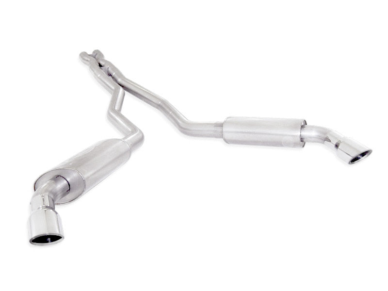 Stainless Works 2010-15 Camaro 6.2L 3in Exhaust X-Pipe Chambered Turbo Mufflers Polished Tips