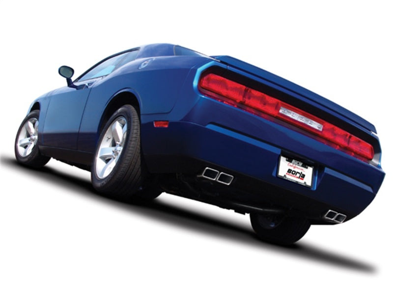 Borla 11-12 Dodge Challenger SRT8 Coupe 6.4L 8cyl 5spd/6spd RWD S-Type Catback Exhaust w/ X-Pipe