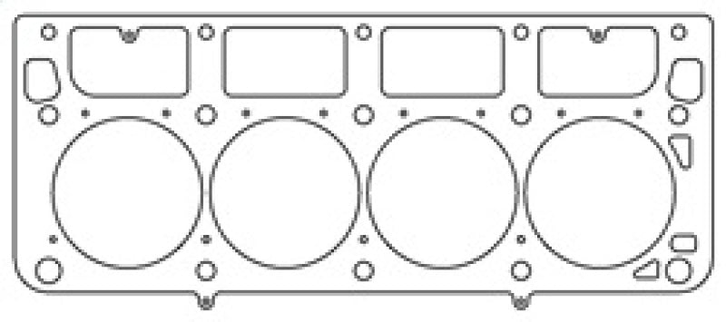 Cometic GM LS1 (w/M.I.D. Sleeves) 3.910 inch Bore .040 inch MLS Headgasket