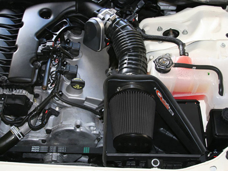 Airaid 05-08 Dodge Magnum / 06-10 Charger 2.7/3.5L CAD Intake System w/o Tube (Dry / Black Media)