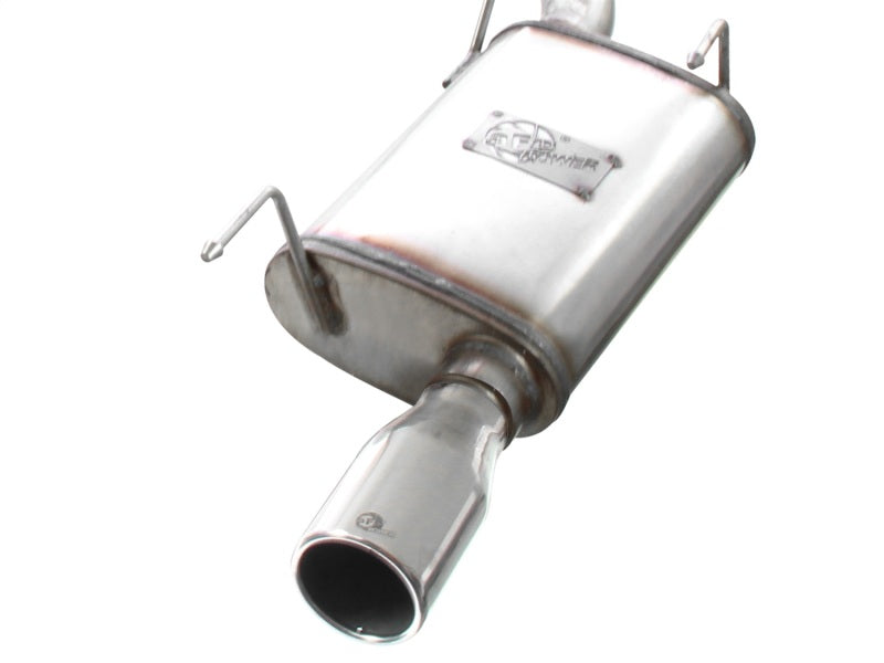 aFe MACHForce XP 05-09 Ford Mustang V6 4.0L 2-1/2in. 409 SS Cat-Back Exhaust