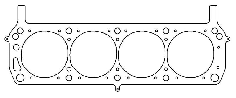 Cometic Ford SVO 302/351 4.180 inch Bore .040 Inch MLS Left Side Headgasket