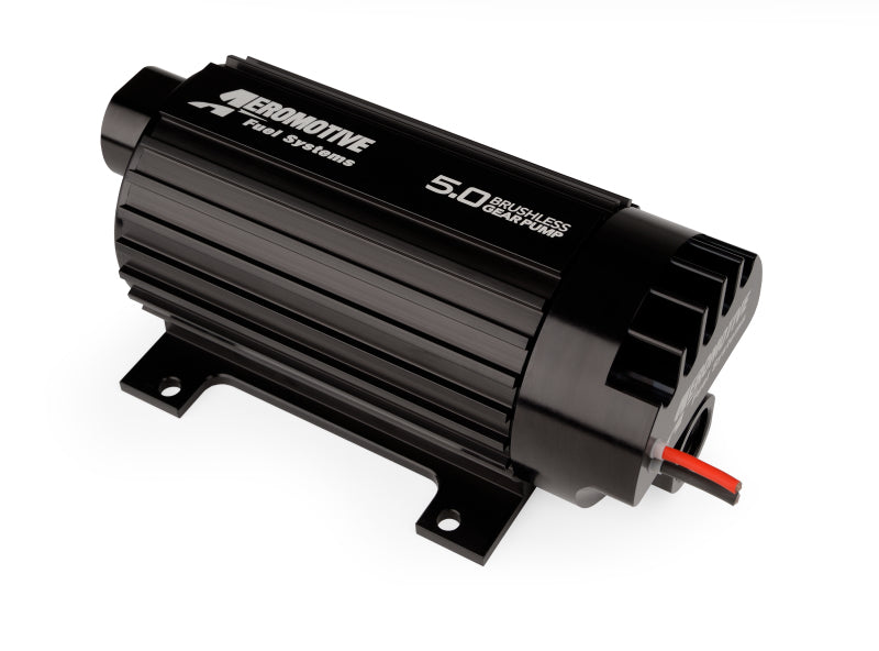 Aeromotive Variable Speed Controlled Fuel Pump - In-line - Signature Brushless Spur Gear 5.0gpm