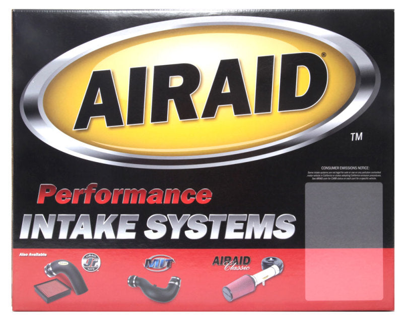 Airaid 05-09 Mustang 4.0L V6 MXP Intake System w/ Tube (Oiled / Red Media)