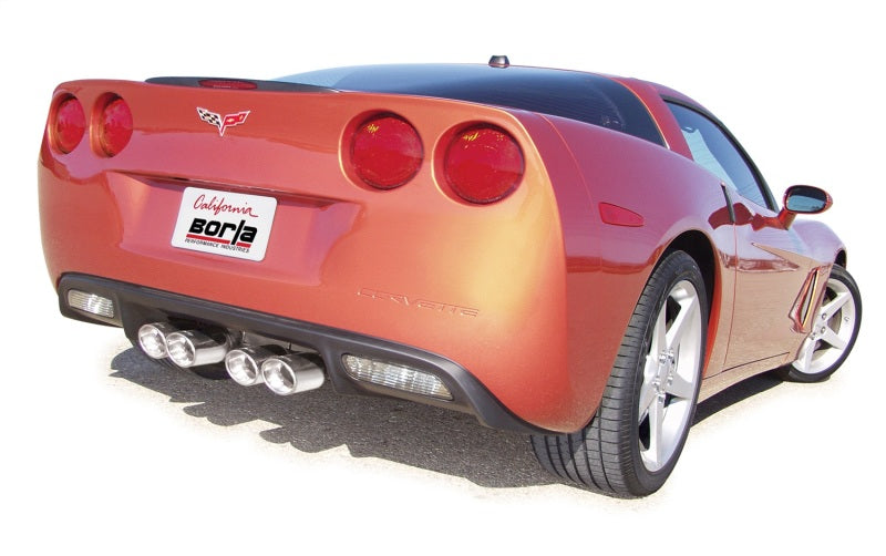 Borla 05-08 Corvette Coupe/Conv 6.0L/6.2L 8cyl AT/MT 6spd S-Type II SS Exhaust (rear section only)