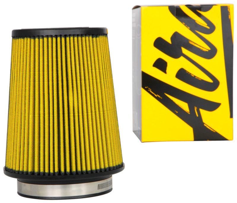 Airaid Universal Air Filter - Cone 4in FLG x 6in B x 4-5/8in T x 7 H