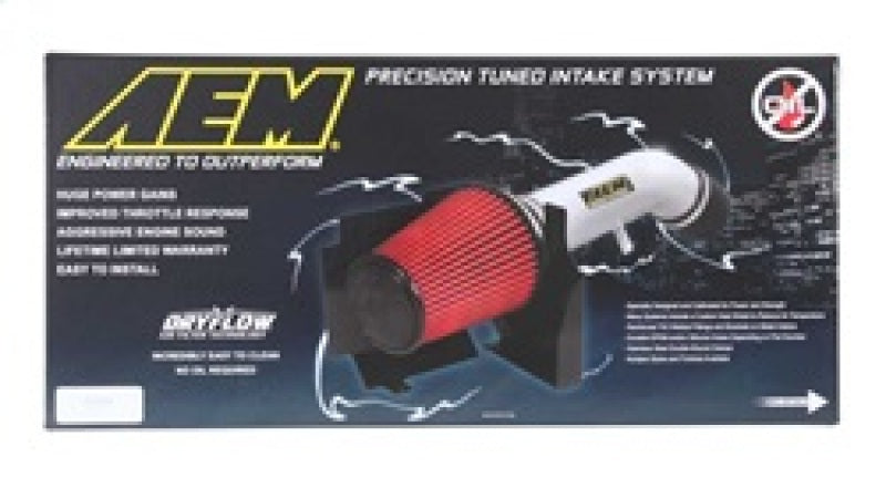 AEM 09-10 Dodge Challenger/Charger 3.5L Polished Cold Air Intake