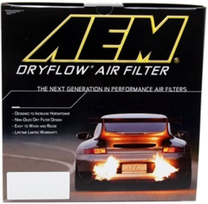 AEM 96-97 Mustang V8 4.6L 4.25in Base ID x 8.125in Base OD x 7.313in H Replacement DryFlow Filter