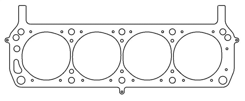 Cometic Ford SVO 302/351 4.1 inch Bore .045 Inch MLS Left Side Headgasket