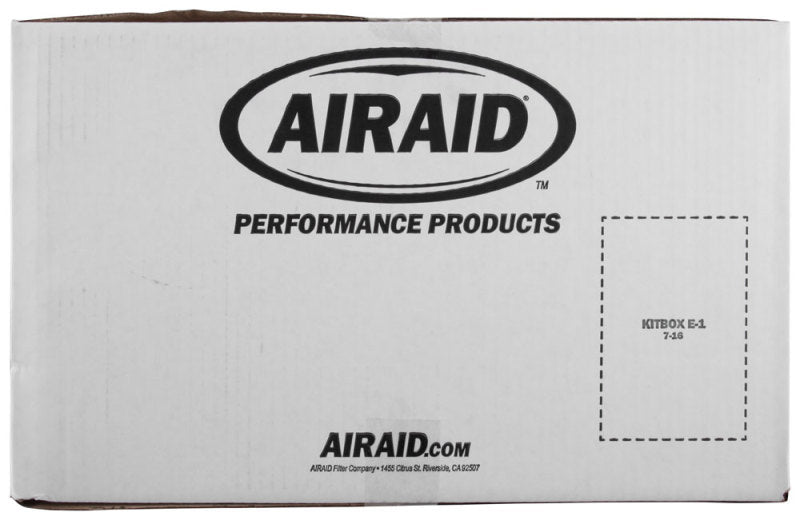 Airaid 2015 Ford Mustang 3.7L V6 Intake System (Dry / Red Media)