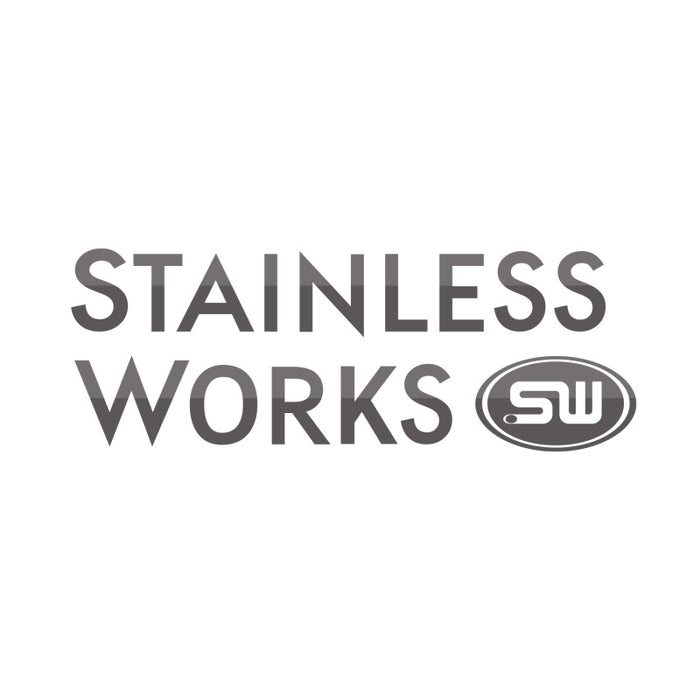 Stainless Works 2015-16 Mustang 2-1/2in Catback Retro Chambered Mufflers Factory Connection