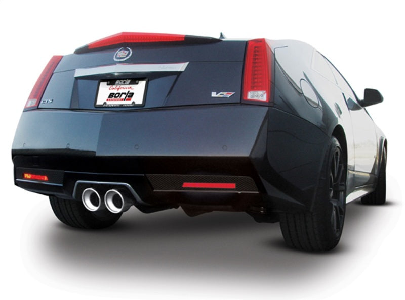 Borla 11-13 Cadillac CTS V Coupe 6.2L 8cyl 6spd RWD Touring Catback Exhaust w/ X-Pipe