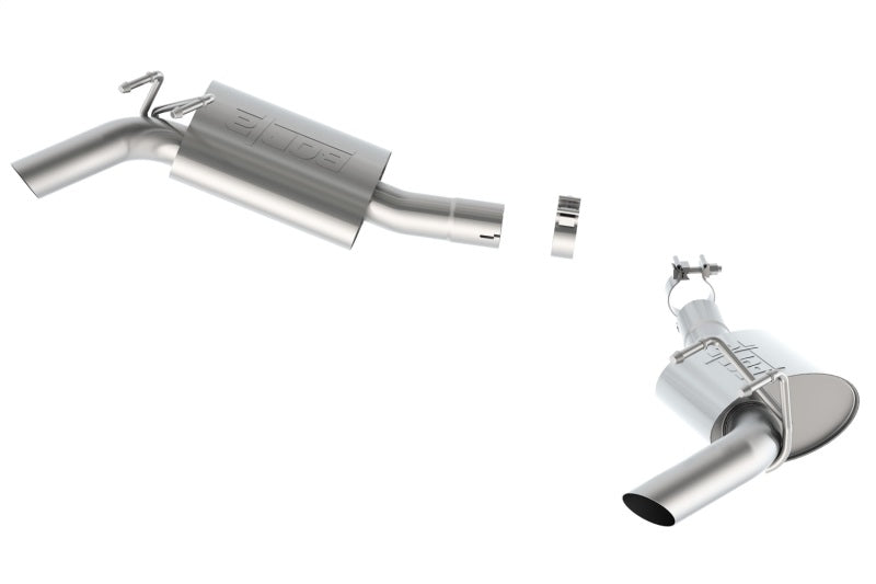 Borla 14 Camaro SS 6.2L V8 RWD Single Split Rr Exit Touring Exhaust (rear section only) (no tip)