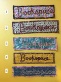 Hand-Sewn Cloth Bookspace Bookmarks