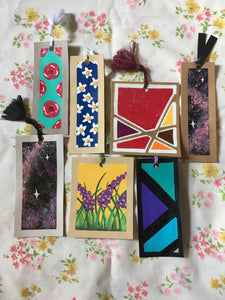 Hand-Painted Bookmarks | Fundraiser for BQIC