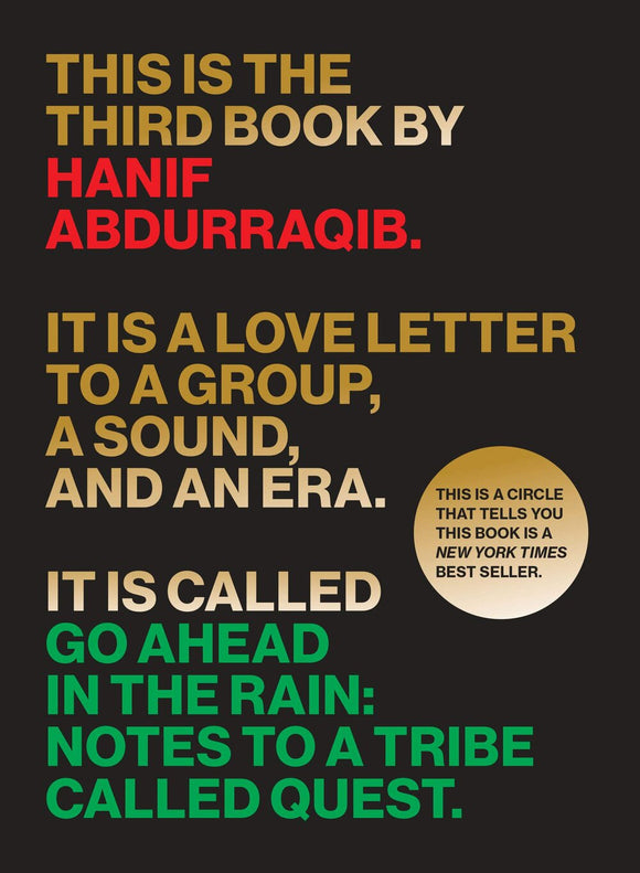 Go Ahead in the Rain | Hanif Abdurraqib