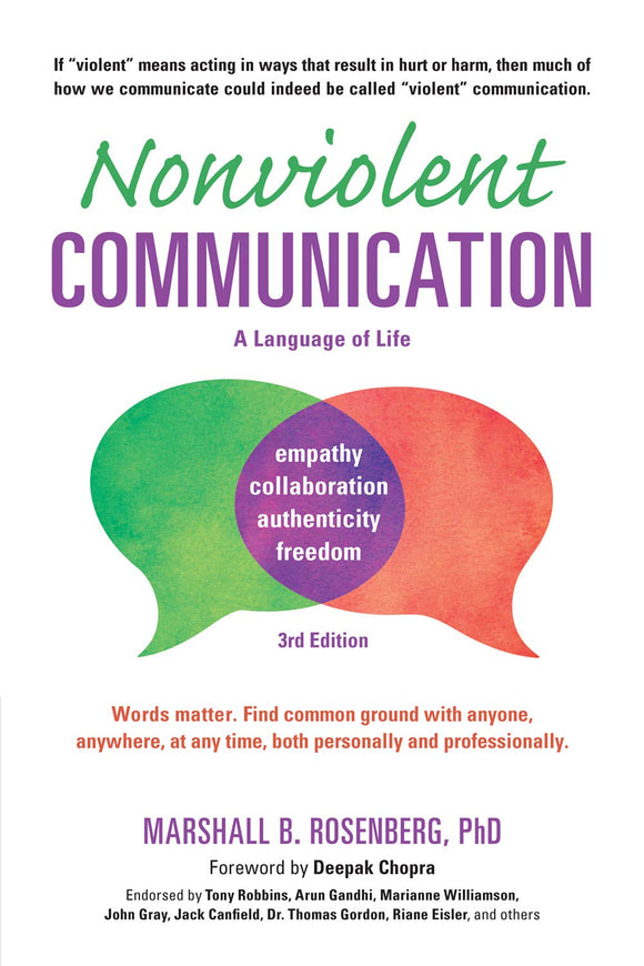 Nonviolent Communication | Marshall B. Rosenberg