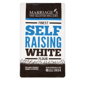 Marriages Finest White Self Raising Flour 1.5 kg - Flour 2 Door