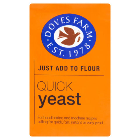 Doves Farm Quick Yeast 125g - Flour 2 Door