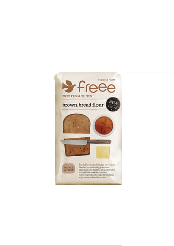 Doves Farm - Gluten Free Brown Bread Flour 1kg - Flour 2 Door