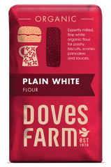 Doves Farm - Organic Plain White Flour 1kg - Flour 2 Door
