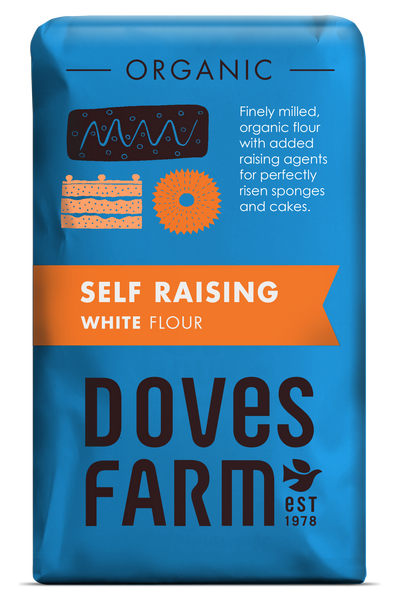 Doves Farm - Organic Self Raising White Flour 1kg