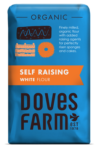 Doves Farm - Organic Self Raising White Flour 1kg - Flour 2 Door