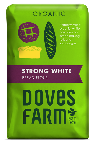 Doves Farm - Organic Strong White Bread Flour 1500g