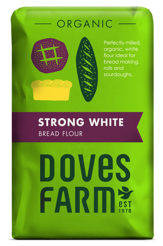 Doves Farm - Organic Strong White Bread Flour 1500g - Flour 2 Door