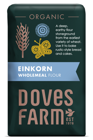 Doves Farm - Einkorn Wholemeal Flour 1kg - Flour 2 Door
