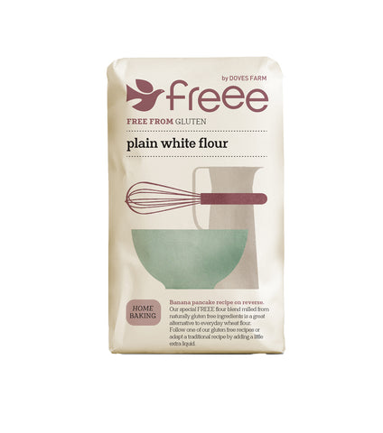Doves Farm - Gluten Free Plain White Flour 1kg - Flour 2 Door