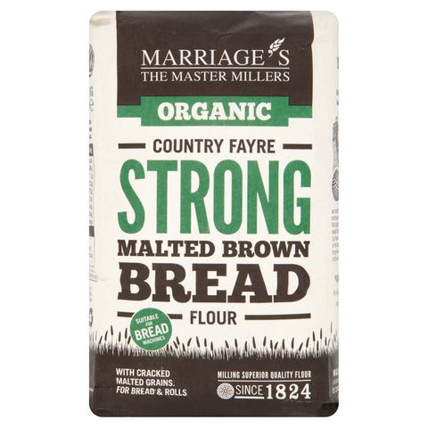 Marriages Country Fayre Strong Malt Brown Bread Flour 1kg - Flour 2 Door