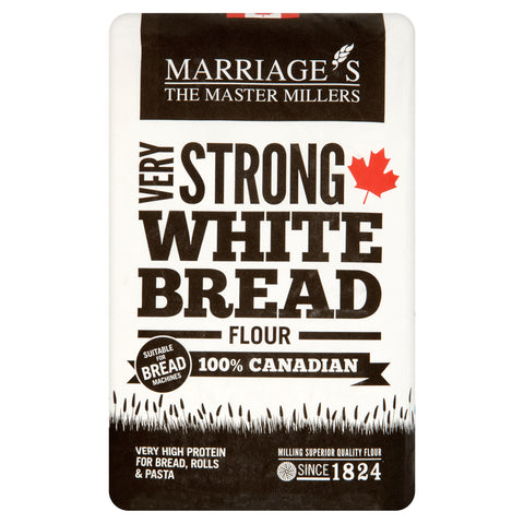Marriages 100% Canadian White Flour Very Strong 1.5kg - Flour 2 Door