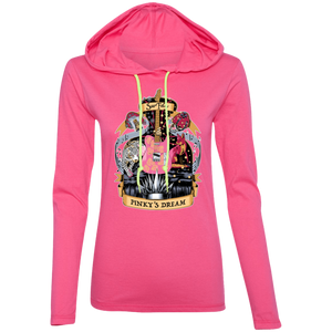 Pinky's Dream T-Shirt Hoodie - Pink
