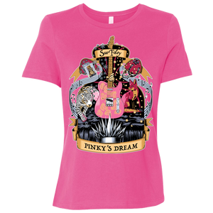 Pinky's Dream Relaxed T-Shirt - Pink
