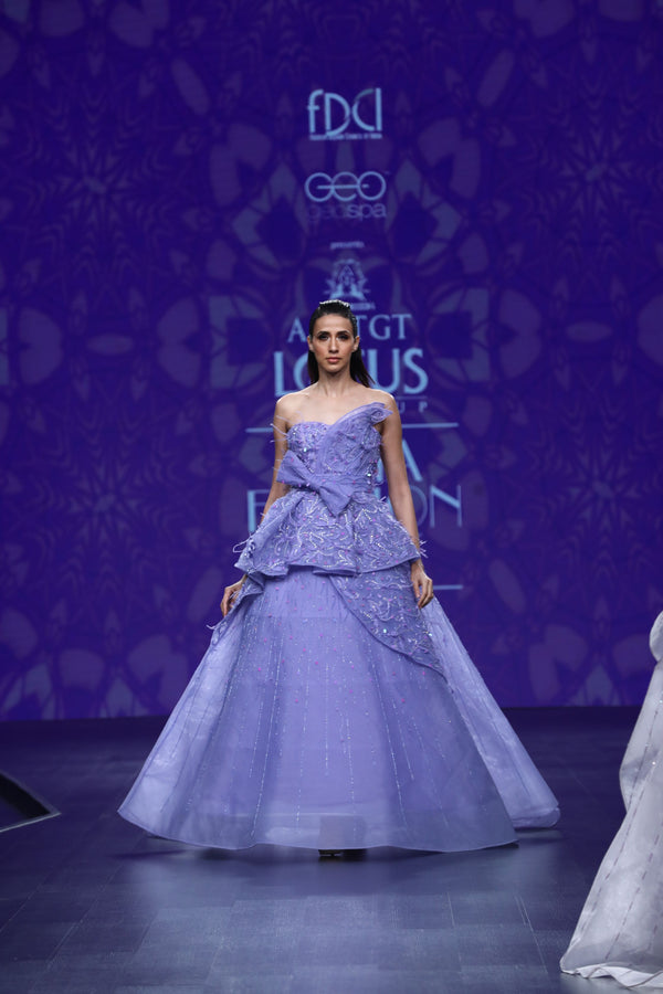 Amit GT - Carlose 3d flower ball gown