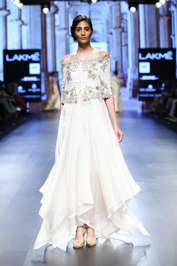 Anushree Reddy - Ivory Tunic
