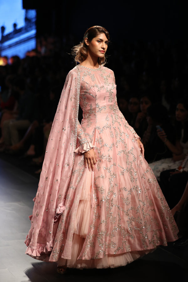 Anushree Reddy - Pink anarkali