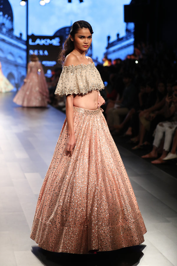 Anushree Reddy - Off shoulder with lehenga set