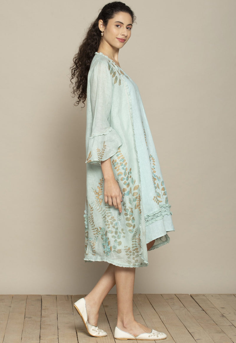 Kaveri - Vintage garden sloane dress & kate jacket