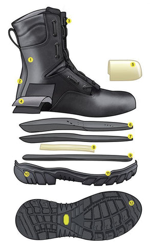 GLOBE STATION WILDLAND FIREFIGHTING BOOT