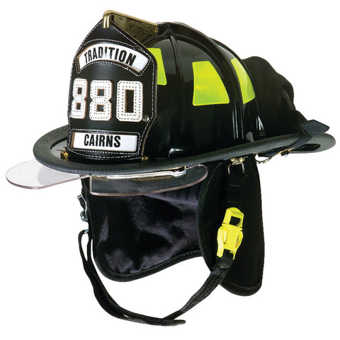 CAIRNS 880 TRADITIONAL THERMOPLASTIC FIRE HELMET