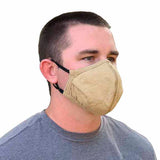 PGI BarriAire™ Gold Face Mask with Adjustable Ear Elastic
