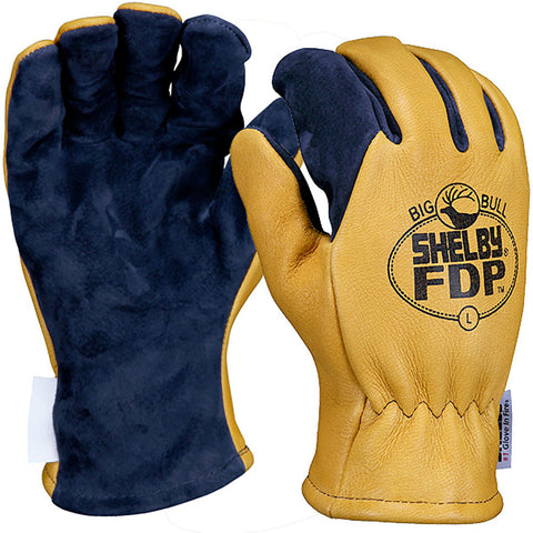 SHELBY STRUCTURAL FIRE FIGHTING GLOVES STYLE NO. 5280G