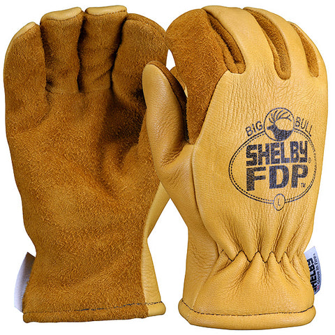 SHELBY STRUCTURAL FIRE FIGHTING GLOVES - 5282G