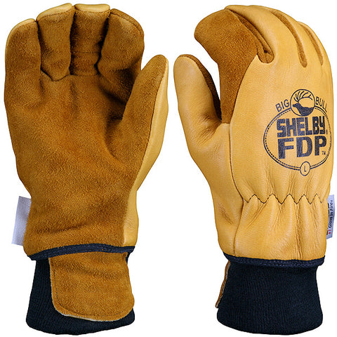 SHELBY STRUCTURAL FIRE FIGHTING GLOVES - 5282