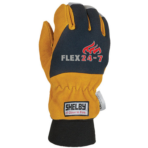 SHELBY FLEX 24-7 STRUCTURAL FIRE FIGHTING GLOVES - 5284G