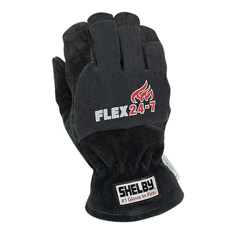 SHELBY FLEX 24-7 STRUCTURAL FIRE FIGHTING GLOVES - 5285B