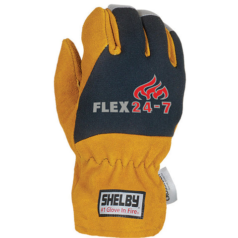 SHELBY STRUCTURAL FIRE FIGHTING GLOVES STYLE NO. 5285G