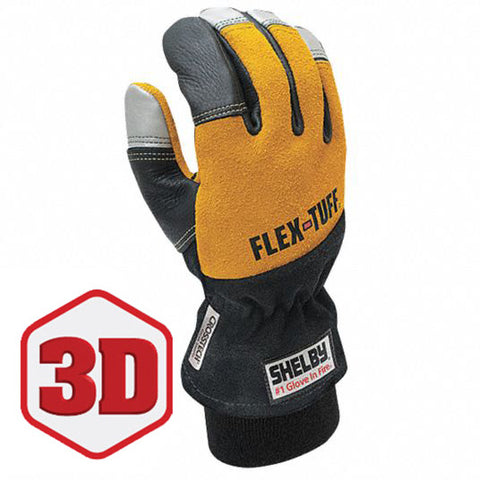 SHELBY FLEX-TUFF STRUCTURAL FIRE FIGHTING GLOVES - 5291G